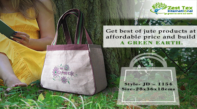 Advantages of utilizing Jute products instead of plastic bags.