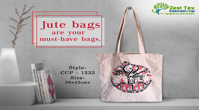 Jute Bags – A Stylish Way to Carry Your Stuff and Sustain the Environment.