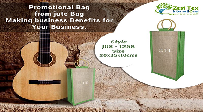 Promotional Bag from jute Bag Making business Benefits for Your Business.