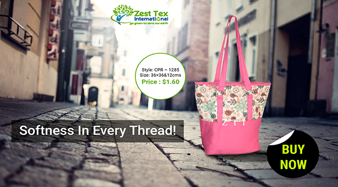Cotton Canvas Tote bags: advantages over plastic bags