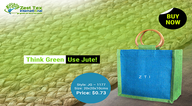Building a green future with wholesale jute bags supplier!