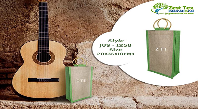 Say 'Yes, We Can' With Reusable Bags by Jute bags manufacturers.