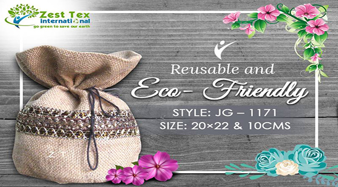 A product from Jute bags manufacturers can bring global warming down!