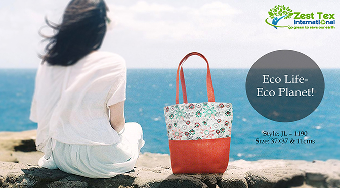 Eco-Friendly Canvas Tote Bags: Good for the Environment and it'd Good for Your Brand Promotion.